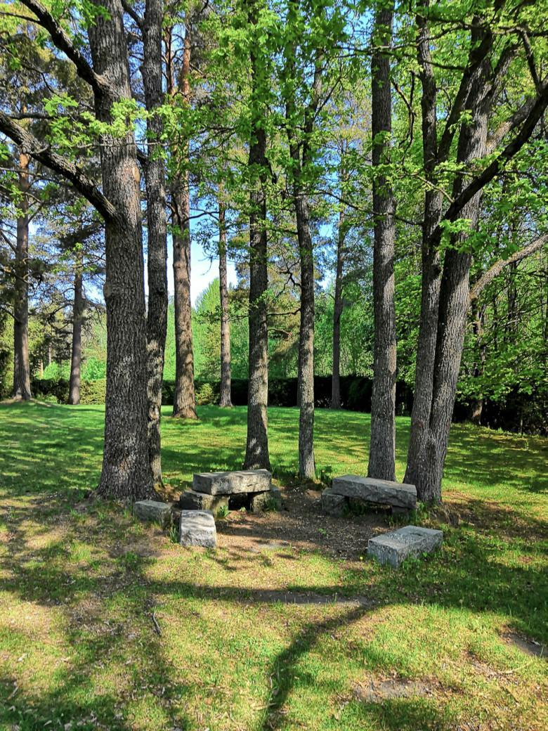 Kuva Viinamäen hautausmaalta