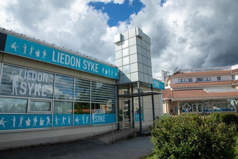 Ulkokuva Liedon Sykkeen toimitilasta.